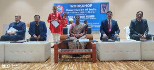Workshop on Constitution of India